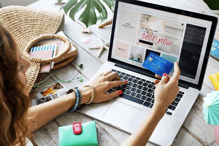 موقع التجارة الإلكترونية
